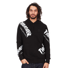 HUF x Thrasher - Tour De Stoops Allover Hoodie