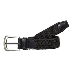 Barbour - Stretch Webbing Leather Belt
