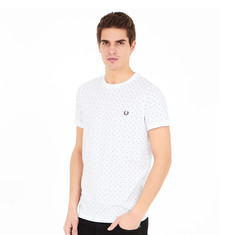 Fred Perry - Square Print T-Shirt