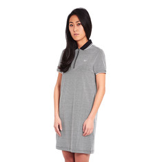 Fred Perry - Texture Zip Neck Dress