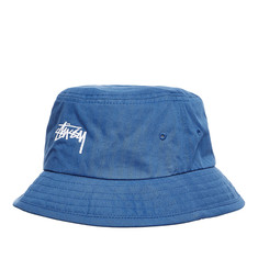 Stüssy - Bio Washed Herringbone Bucket Hat