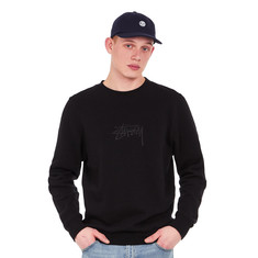 Stüssy - New Stock Applique Crew Sweater