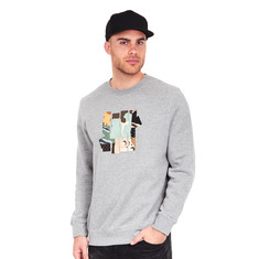 Undefeated - Patchwork Strike Crewneck Sweater
