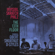 Invisibl Skratch Piklz - The 13th Floor White Vinyl Edition