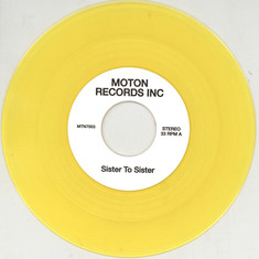 Moton Records Inc - Sister To Sister / We Are The Sunset