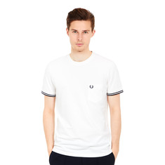Fred Perry - Twin Tipped Pique Pocket T-Shirt