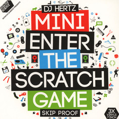DJ Hertz - Mini Enter The Scratch Game Colored Vinyl Edition