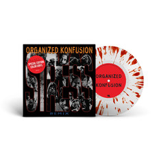 Organized Konfusion - Stress Large Pro Remix Colored Vinyl Edition