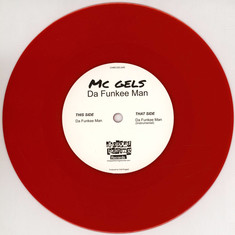 MC Gels - Da Funkee Man / Instrumental