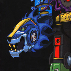 DJ Qbert - Super Seal Giant Robo V.2 (Right Arm)