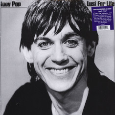 Iggy Pop - Lust For Life Purple Vinyl Edition