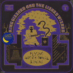 King Gizzard & The Lizard Wizard - Flying Microtonal Banana Translucent Gold With Blue Splatter Vinyl Edition